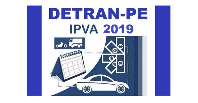Resultado de imagem para pagamento do IPVA 2019 em PE